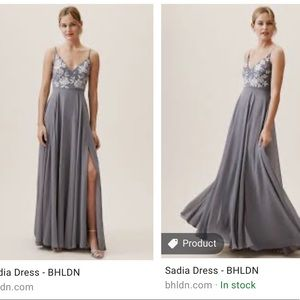BHLDN - Hydrangea Sadia Dress - Size 2